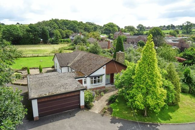 Thumbnail Detached bungalow for sale in White Oaks, Bignall Hill, Bignall End