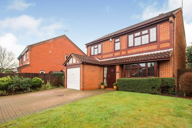 Thumbnail Detached house for sale in Yellowhammer Court, Kidderminster