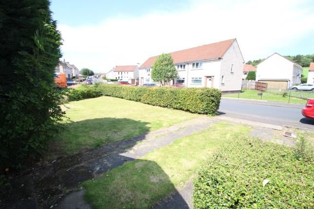 Garden of Holms Avenue, Dreghorn, Irvine, North Ayrshire KA11