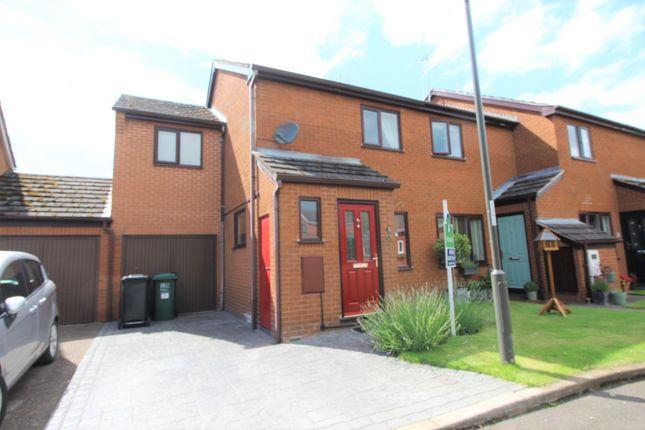 Thumbnail End terrace house for sale in Dove Grove, Egginton, Derby, Derbyshire
