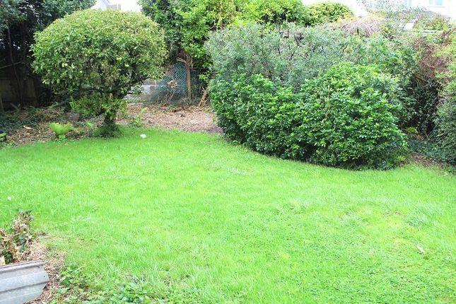 Rear Garden of Silver Close, West Cross, Swansea SA3