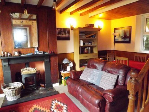 Lounge of Upper Llwyngell Terrace, Rhiwbryfdir, Blaenau Ffestiniog, Gwynedd LL41