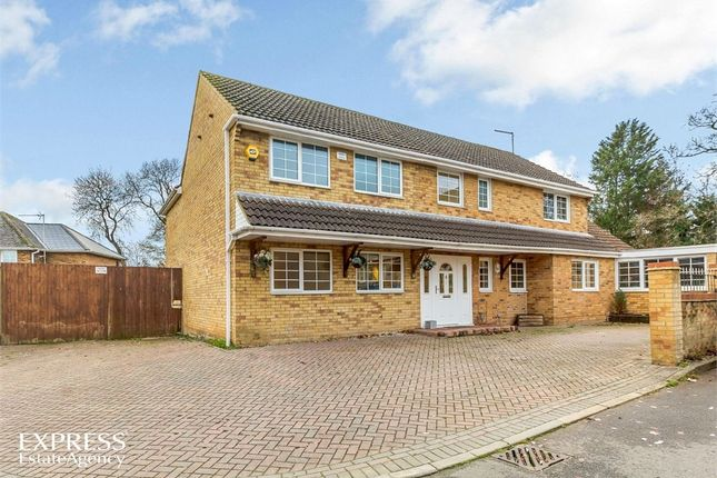 Thumbnail Detached house for sale in Home Close, Great Oakley, Corby, Northamptonshire