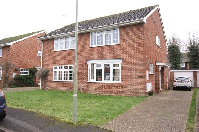 Thumbnail Semi-detached house for sale in Denham Gardens, Netley Abbey, Southampton