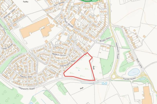 Thumbnail Land for sale in Spode Drive, Woodville, Swadlincote