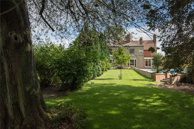 Thumbnail Detached house for sale in Rectory Road, Outwell, Wisbech, Cambridgeshire