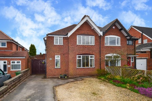 Thumbnail Semi-detached house for sale in Middle Drive, Cofton Hackett, Birmingham