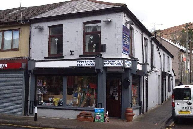 Thumbnail Retail premises for sale in Tonypandy, Rct