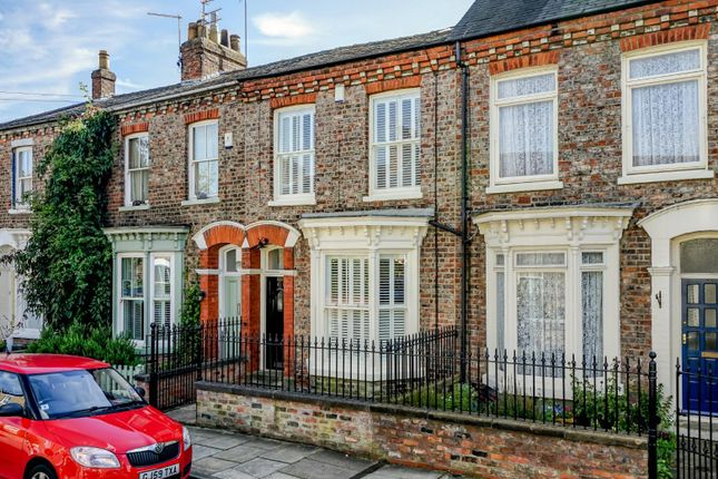 Thumbnail Terraced house for sale in Fairfax House, Victor Street, Bishophill, York