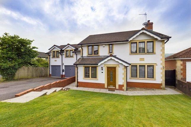 Thumbnail Detached house for sale in Tyn-Y-Coedcae, Waterloo, Machen.