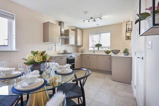 """Thumbnail Semi-detached house for sale in """"The Eveleigh"""" at Warfield, Bracknell"""