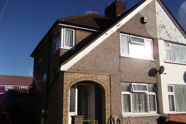 Thumbnail Semi-detached house to rent in Monmouth Road, Hayes