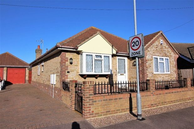 Thumbnail Detached bungalow for sale in Bramble Way, Great Clacton, Clacton On Sea