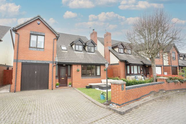 Thumbnail Detached house for sale in The Hawthorns, Caerleon