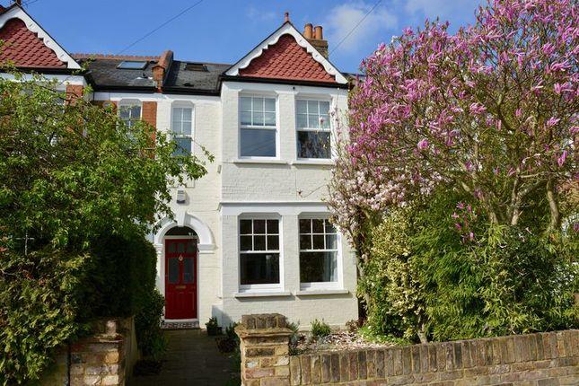 Thumbnail Terraced house for sale in Church Road, Teddington