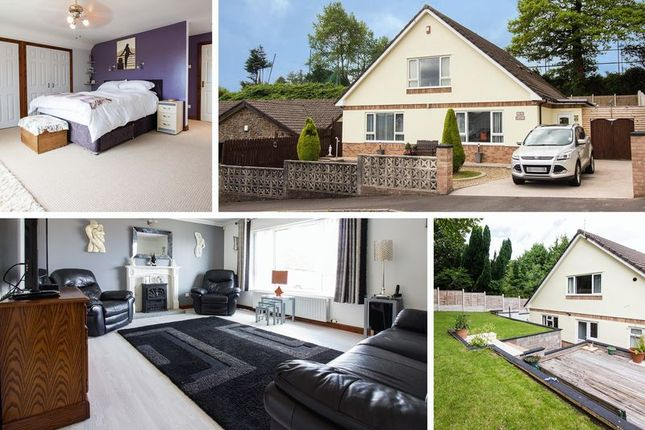 Thumbnail Detached bungalow for sale in St. Tudors View, Blackwood