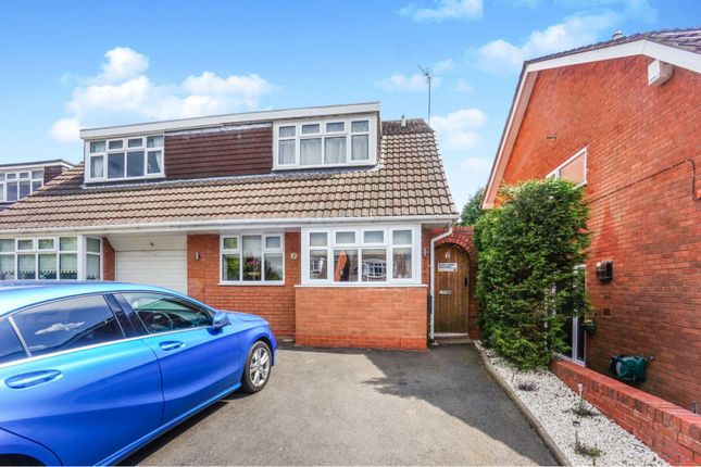 Thumbnail Semi-detached house for sale in Shallcross Lane, Lower Gornal