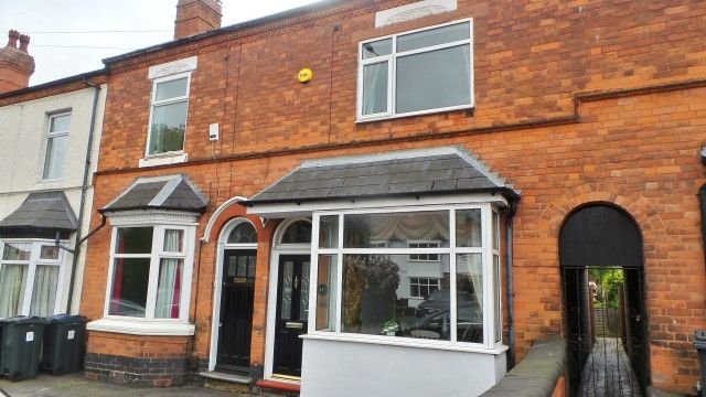 Thumbnail Terraced house for sale in Jockey Road, Sutton Coldfield, West Midlands