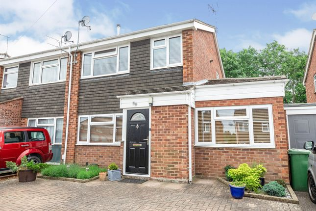 Thumbnail Semi-detached house for sale in Stowe Drive, Southam