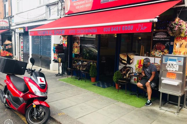 Thumbnail Restaurant/cafe to let in Willesden High Road, London