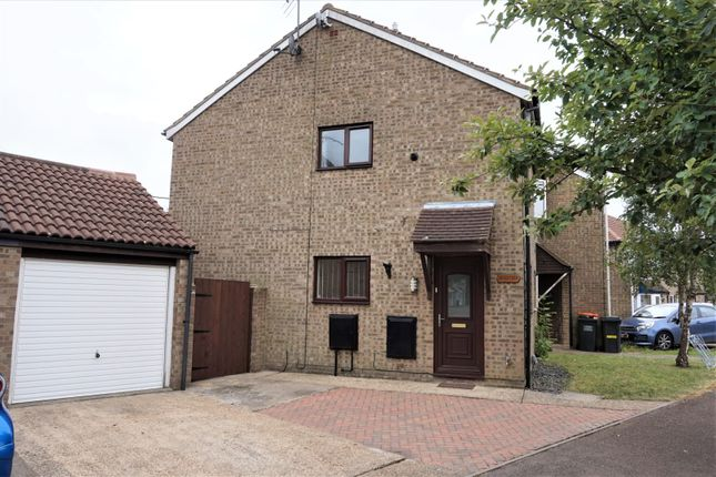 Thumbnail End terrace house for sale in Fensome Drive, Houghton Regis