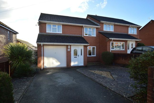 Thumbnail Semi-detached house for sale in Warwick Road, Exeter, Devon