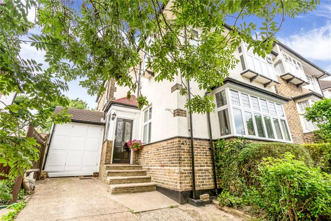 Thumbnail Semi-detached house for sale in Slades Hill, Enfield