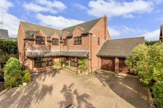Thumbnail Detached house for sale in The Moorlands, Rushden, Northamptonshire