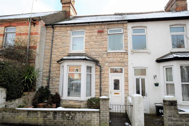 Thumbnail Terraced house for sale in Porthkerry Road, Barry