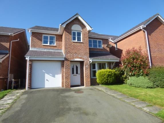 Thumbnail Detached house for sale in Maes Berea, Bangor, Gwynedd