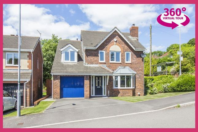 Thumbnail Detached house for sale in Bethesda Close, Rogerstone, Newport