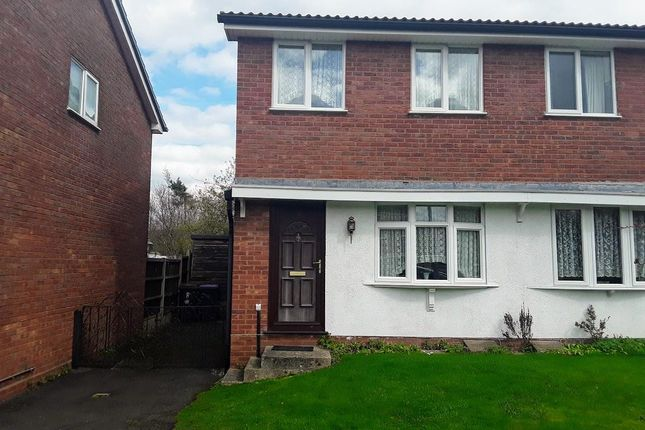 Thumbnail Semi-detached house for sale in Clares Lane Close, The Rock, Telford