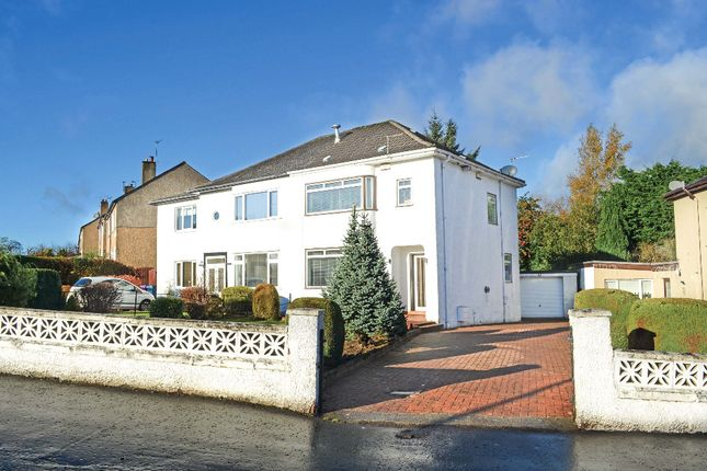 Thumbnail Semi-detached house for sale in Largie Road, Glasgow
