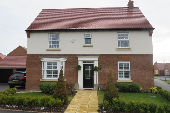 4 bed detached house for sale in William Spencer Avenue, Sapcote, Leicester