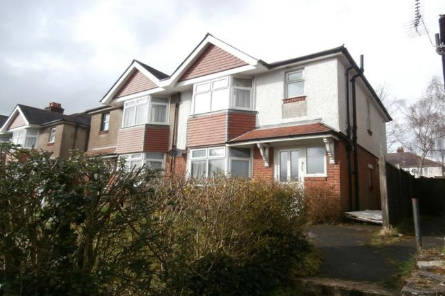 Thumbnail Flat to rent in Burgess Road, Southampton