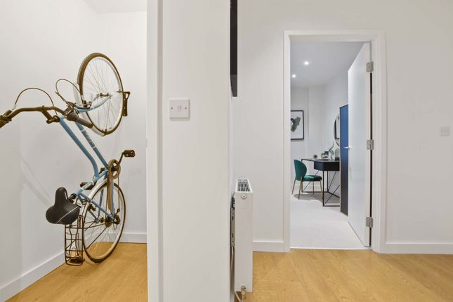 Thumbnail Flat for sale in Shackleton Way, Royal Albert Wharf, London
