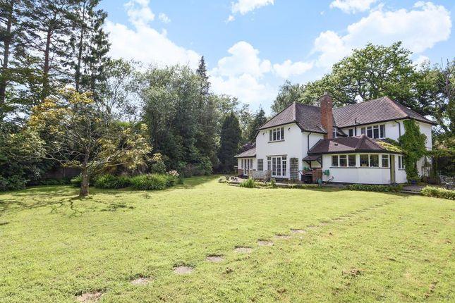 Thumbnail Detached house for sale in Chobham, Surrey, Philpot Lane