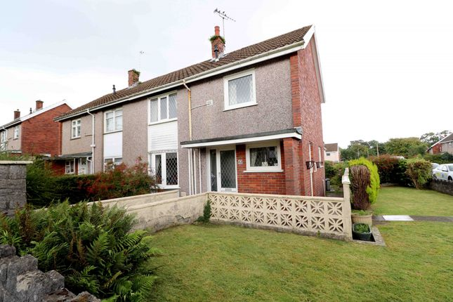 Thumbnail Semi-detached house for sale in Lon Olchfa, Swansea