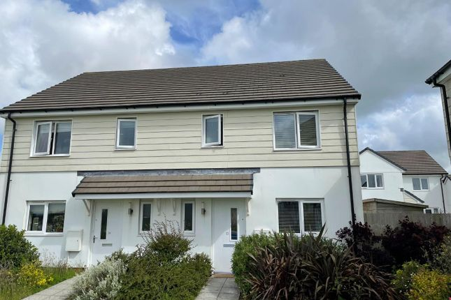 3 bed semi-detached house to rent in Chapel Green, Shortlanesend, Truro TR4