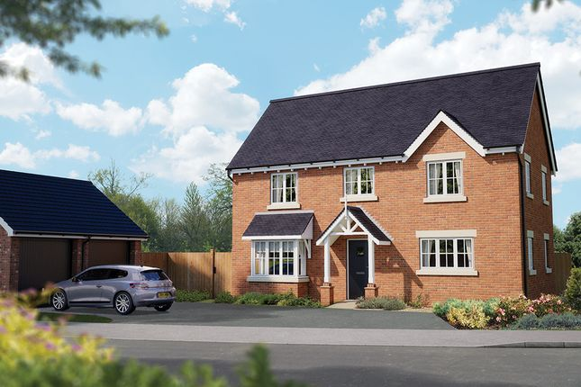 "Thumbnail Detached house for sale in ""The Montpellier"" at Crewe Road, Haslington, Crewe"