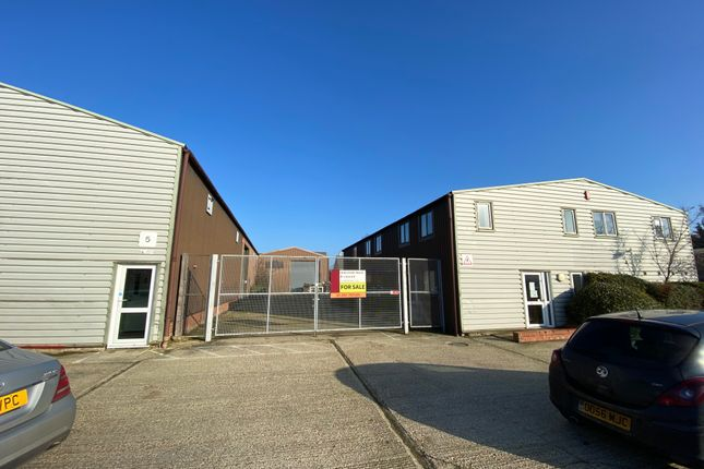 Thumbnail Warehouse to let in 1 Station Road, Elmswell