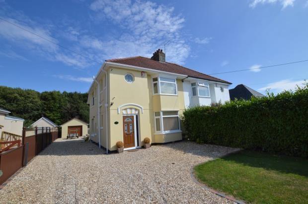 Thumbnail Semi-detached house for sale in Colesdown Hill, Plymstock, Plymouth, Devon
