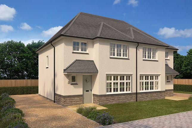 "Thumbnail Semi-detached house for sale in ""Ludlow"" at Crediton Road, Okehampton"
