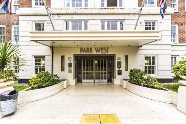 Entrance of Edgware Road, Hyde Park W2