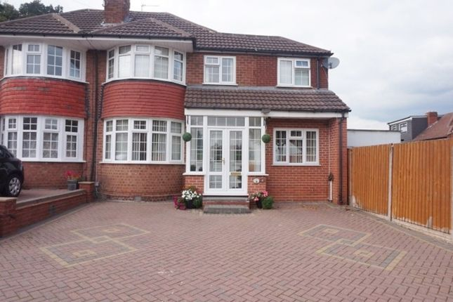 Thumbnail Semi-detached house for sale in Amherst Avenue, Handsworth Wood, Birmingham