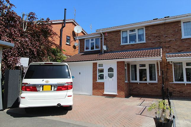 Thumbnail Semi-detached house for sale in Belvoir Close, Milking Bank