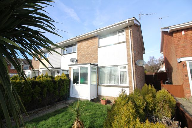 Thumbnail End terrace house for sale in Redwood Road, Poole