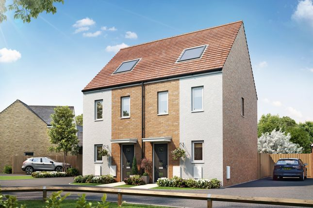 """3 bed semi-detached house for sale in """"The Moseley"""" at Hayfield Way, Bishops Cleeve, Cheltenham GL52"""