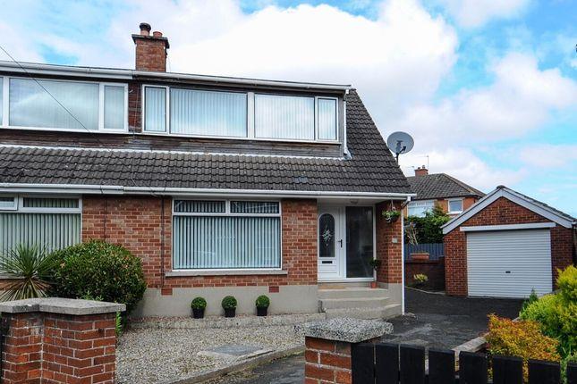 Thumbnail Semi-detached house for sale in Sperrin Park, Belfast