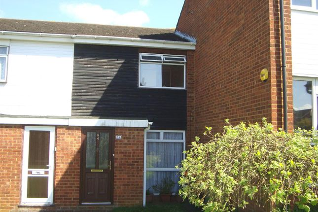Thumbnail Terraced house to rent in Bidwell Hill, Houghton Regis, Dunstable